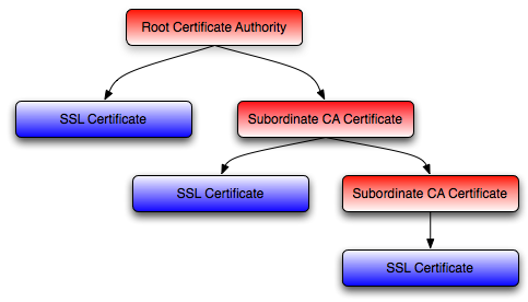 SSL Certificate Chain Example